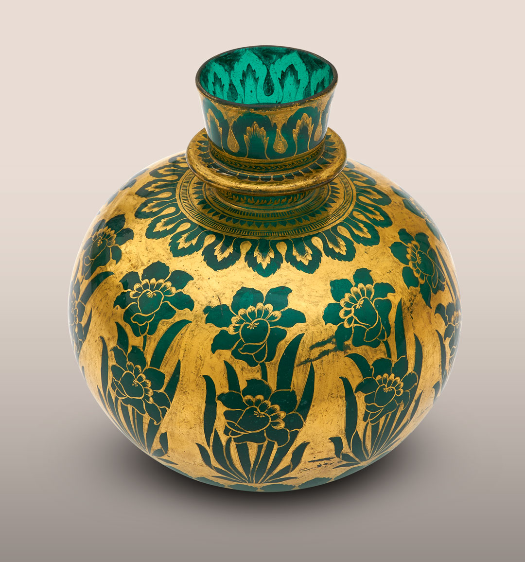 Huqqa (Water Pipe) Base, early 18th century