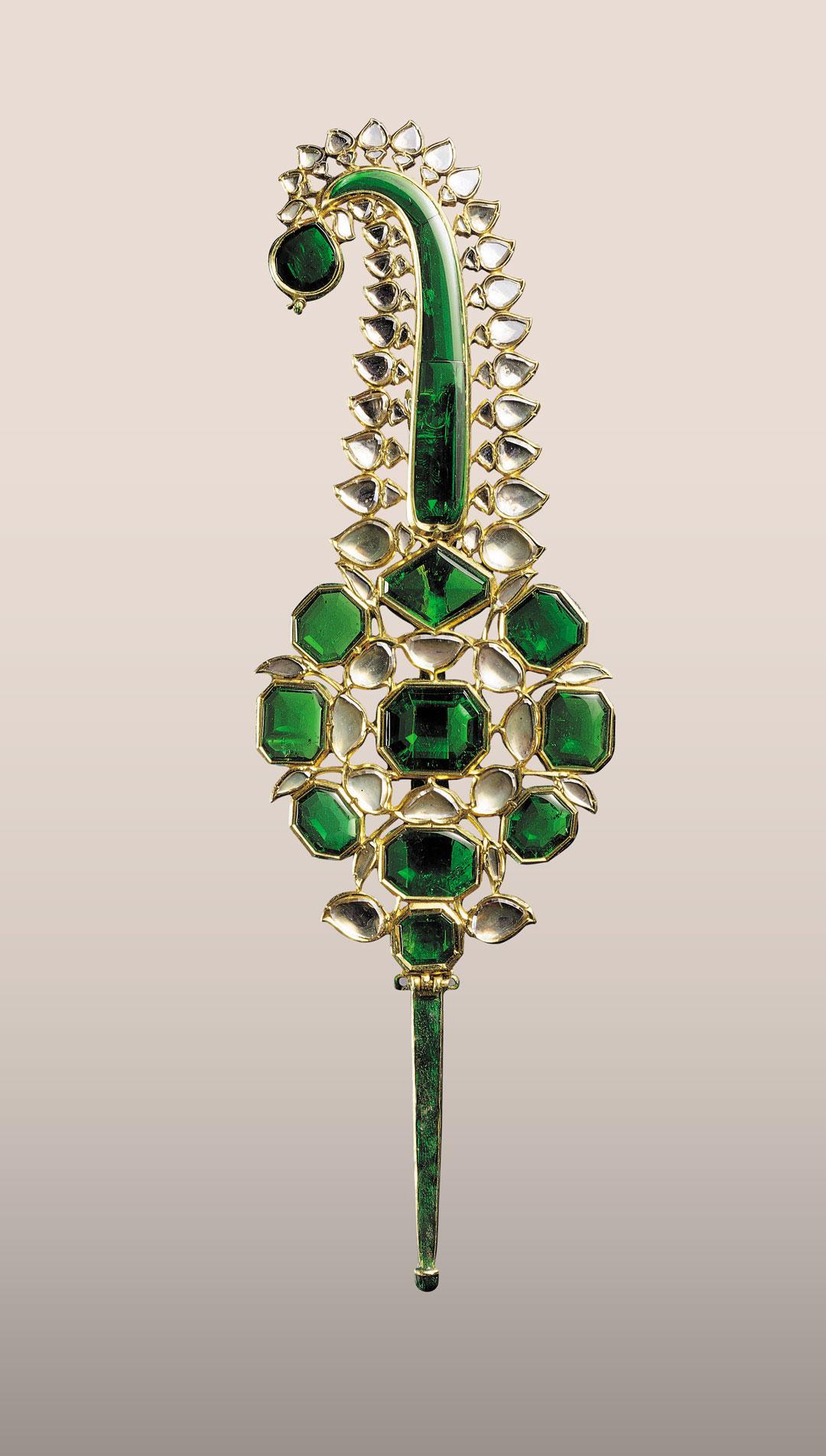 Sarpech (Turban Ornament), Probably second half of 17th century